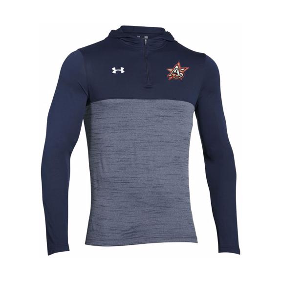 UA Tech quarter zip hoody Navy