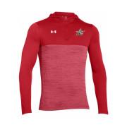 UA Tech quarter zip hoody red